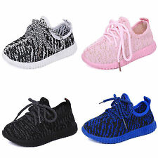 Boys Girls Kids Breathable Mesh Sport Shoes Casual Running  School Sneakers Shoe