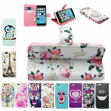 Stand Flip Leather Wallet Case Cover For Samsung S6 S5 Sony Z5 Compact Z4 Z3 E4