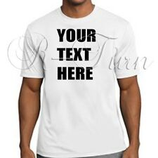 Custom Personalized Design Logo Text T-shirt tee tees Funny Offensive shirt