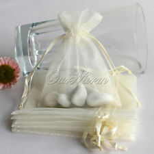 200 Wholesale Strong Sheer Organza Pouch 7x9cm Wedding Favor Jewelry Candy Bag
