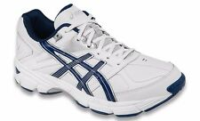 ASICS GEL 190 TR LEATHER WHITE NAVY MENS CROSS TRAINING SHOES **FREE POST AUST