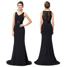Women Sexy Lace Evening Formal Party Cocktail Dress Bridesmaid Prom Maxi Gown