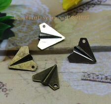 15/45pcs One direction harry style paper airplane alloy necklace, pendant