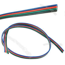 1M 4 PIN Flexible Extension Connector Cable Cord for 5050 3528 RGB Led Strip