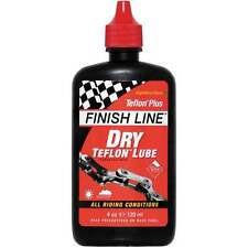 Finish Line Teflon Plus Dry Cycle Cycling Bike Chain Oil Lube Lubricant