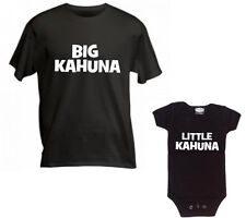 BIG KAHUNA LITTLE KAHUNA - DAD SON SHIRT SET OF 2 - GREAT GIFT - SIZE CHOICE