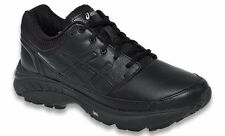 ASICS GEL FOUNDATION WORKPLACE BLACK WOMENS SHOES **FREE POST AUSTRALIA