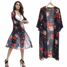 Shirt Style Beach Coverup Women Summer Swimwear Bikini Beach Sarong Long Dress
