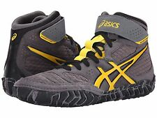 ASICS AGGRESSOR 2 GRAPHITE BLACK MENS WRESTLING SHOES **FREE POST AUSTRALIA