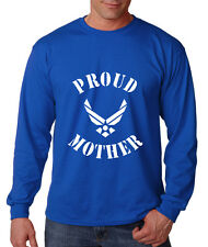 PROUD MOTHER AIR FORCE MILITARY Long Sleeve Unisex T-Shirt Tee Top