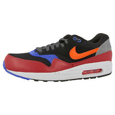 NIKE AIR MAX 1 ESSENTIAL SHOES TRAINERS BLACK RED 537383-017 PREMIUM 90 97 95