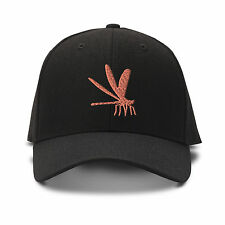 Damsel Fly Embroidery Embroidered Adjustable Hat Baseball Cap