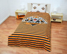 Official NRL Wests Tigers Double-Sided Quilt Cover Set