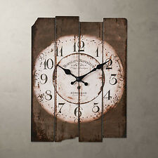 Country Vintage Antique Wood Wall Clock Home Decor Wall Decoration Antique Clock