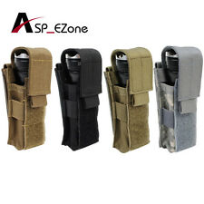 4 colors Airsoft Tactical 1000D Molle Utility Tool Flashlight Pouch