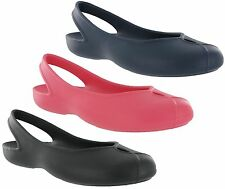 Crocs Olivia II Flat Smart Casual Work Comfort Ballerina Womens Shoes Sandals