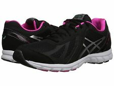 ASICS GEL FREQUENCY 3 BLACK PINK D WIDE WOMENS SHOES **FREE POST AUSTRALIA