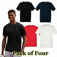 Mens Fruit of the Loom 4 Pack Performance T Shirt,  Mens T-shirt 4 Colours