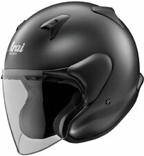 Arai XC Open Face Helmet Black Frost Snell Rated Free Size Exchanges