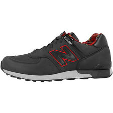 New Balance M 576 PUN Shoes Made in UK Sneaker trainers Black Red M576PUN 420