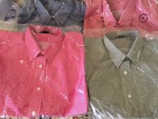 Las Olas L/sleeved Gingham Shirts  Sizes/Plain EMAIL FOR COLOR AVAILABILITY