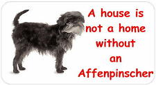 Affenpinscher - glossy labels/stickers - various designs / personalised