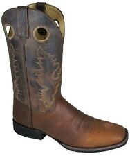 NEW! Smoky Mountain Boots - Men's Western Cowboy Boot - Leather - Square Toe