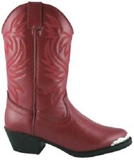 NEW! Smoky Mountain Boots - Toddler - Mesquite - Toe Rand - Western Cowboy - Red