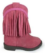 NEW! Smoky Mountain Boots - Toddler - Western Cowboy - Leather Pink with Fringe