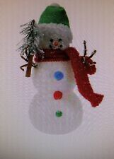 Bethlehem Lights Battery Op. Snowman with Timer  CHECK FOR MODEL  H196317