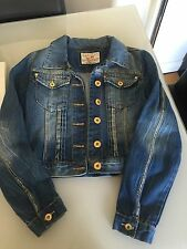 Denim Jacket Quiz Size 12 Summer Women's Clothes Top Holiday