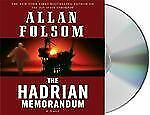 THE HADRIAN MEMORANDUM by ALLAN FOLSOM ABRIDGED CD'S