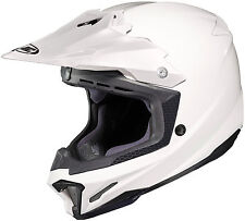 HJC CL-X7 Gloss White Off Road MX Helmet Free Size Exchanges