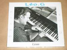 CD / LEO. G / PIANO SOLO  / LIVE / RARE / NEUF SOUS CELLO