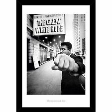 Muhammad Ali - Great White Print with a choice of Framed or Rolled