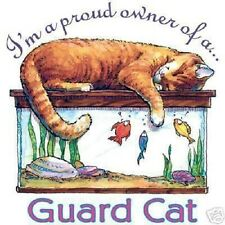 Proud Owner of a Guard  Cat  Tshirt    Sizes/Colors