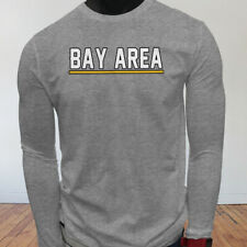 State Tourist Tour Travel Bay Area Vacation Proud Mens Gray Long Sleeve T-Shirt
