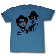 Blues Brothers Movie Shades Licensed Adult T Shirt