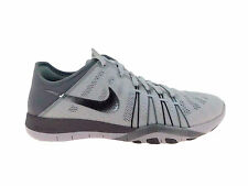 NEW WOMENS NIKE FREE TR 6 CROSS TRAINING SHOES TRAINERS WHITE / METALLIC SILVER
