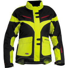 FirstGear TPG Monarch 2014 Womens Textile Jacket Day Glo Yellow/Black