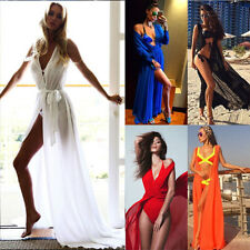 Summer Womens Bathing Suit Sexy Bikini Swimwear Cover Up Beach Long Maxi Dress