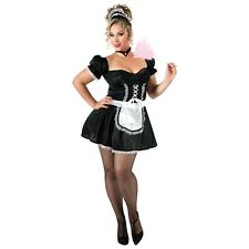 French Maid Costume Sexy Plus Size Adult Fancy Dress