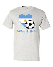 Argentinian Soccer Argentina Football Unisex Cotton T-Shirt Tee Top