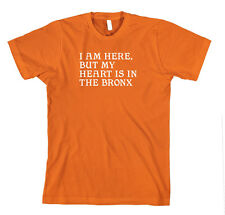 Heart In The Bronx l New Nyc Cotton Unisex T-Shirt Tee Shirt Top