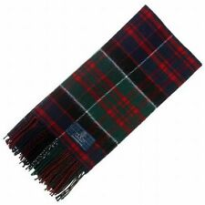 New MacDonald of Clanranald Modern Tartan Scarf - Scottish Wool Clan Scarves