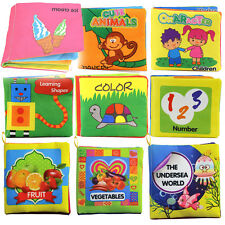 Baby Toddler Intelligence Cloth Bed Cognize Book Development Toys Children New