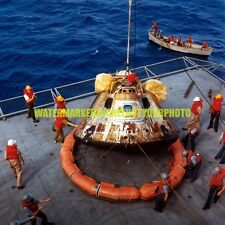 Nasa Apollo 11 Spacecraft Command Module Color Photo Military Rocket Ship