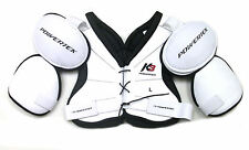 New Powertek K3 ice hockey shoulder chest pads pad senior sr size large vintage