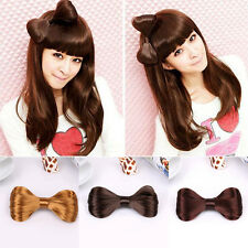 Hot Sale Cute Harajuku Big Bow Ties Wig Hairpin Hair Bow Clips Girls' Hair Tool