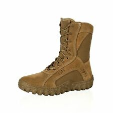 "Rocky Tactical Boots Mens 8"" Compliant S2V Coyote Brown RKC050"
